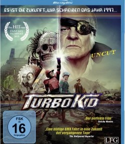 "Das Blu-ray-Cover von ""Turbo Kid"" (© Edel Distribution)"