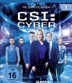 """Die Blu-ray-Box der ersten Staffel von """"CSI: Cyber"""" (© Universum Film)"""