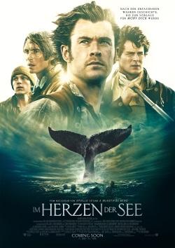 """Das Kino-Plakat von """"Im Herzen der See"""" (© Warner Bros Pictures Germany)"""
