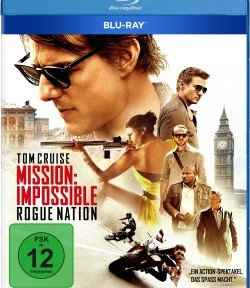 """Das Blu-ray-Cover von """"Mission: Impossible - Rogue Nation"""" (© Paramount Pictures Home Entertainment)"""