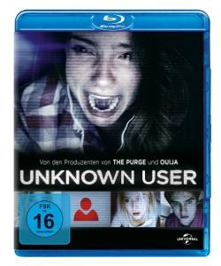 """Das Blu-ray-Cover von """"Unknown User"""" (© Universal Pictures)"""