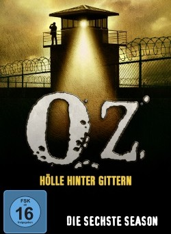 "Das Cover der sechsten Staffel von ""Oz"" (© Paramount Pictures Home Entertainment)"