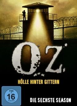 """Das Cover der sechsten Staffel von """"Oz"""" (© Paramount Pictures Home Entertainment)"""