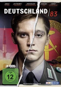"""Das DVD-Cover von """"Deutschland 83"""" (© Universum Film)"""