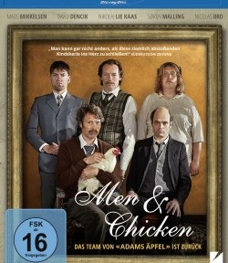 "Das Blu-ray-Cover von ""Men & Chicken"" (© DCM)"