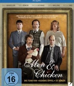 """Das Blu-ray-Cover von """"Men & Chicken"""" (© DCM)"""