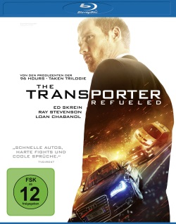 "Das Blu-ray-Cover von ""The Transporter Refueled"" (© Universum Film)"