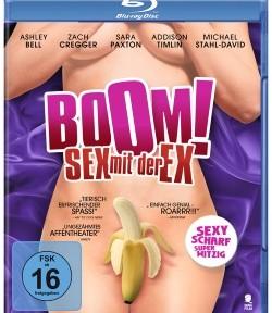 """Das Blu-ray-Cover von """"Boom! Sex mit der Ex"""" (© Tiberius Film)"""