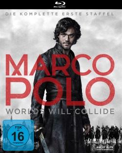 """Das Blu-ray-Cover der ersten Staffel von """"Marco Polo"""" (© Ascot Elite)"""