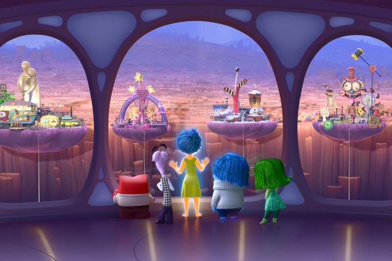 """In der Steuer-Zentrale von """"Alles steht Kopf"""" (© Walt Disney Studios Motion Picture Germany)"""