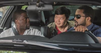 Drei Männer, die hoffentlich nie i Strafvollzug aktiv werden (© Universal Pictures)