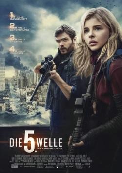 """Das Kino-Plakat von """"Die 5. Welle"""" (© Sony Pictures Germany)"""