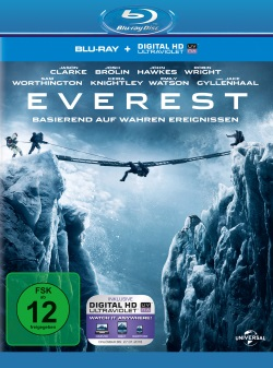 "Das Blu-ray-Cover von ""Everest"" (© Universal Pictures)"