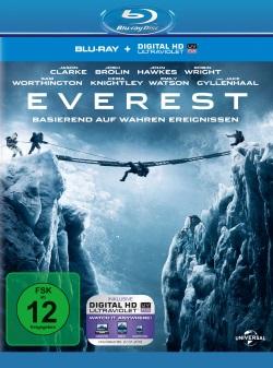 """Das Blu-ray-Cover von """"Everest"""" (© Universal Pictures)"""