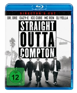 """Das Blu-ray-Cover von """"Straight Outta Compton"""" (© Universal Pictures Germany)"""