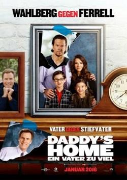 """Das Kino-Plakat von """"Daddy's Home"""" (© Paramount Pictures)"""