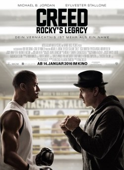 """Das Kino-Plakat von """"Creed"""" (© Warner Bros Pictures)"""