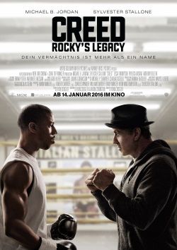 "Das Kino-Plakat von ""Creed"" (© Warner Bros Pictures)"