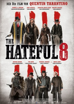 "Das Kino-Plakat von ""The Hateful 8"" (© Universum Film)"