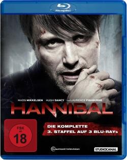 """Das Blu-ray-Cover der dritten Staffel """"Hannibal"""" (© StudioCanal)"""