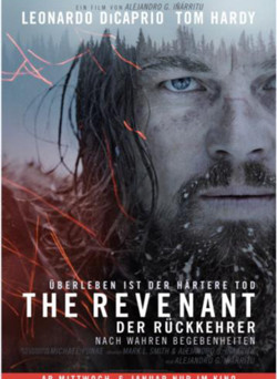 "Das Kino-Plakat von ""The Revenant"" (© 20th Century Fox)"