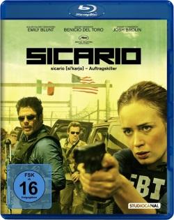 "Das Blu-ray-Cover von ""Sicario"" (© StudioCanal)"