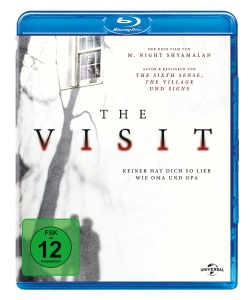 """Das Blu-ray-Cover von """"The Visit"""" (© Universal Pictures Germany)"""