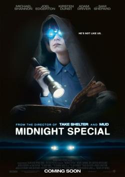 """Das Kino-Plakat von """"Midnight Special"""" (© Warner Bros Pictures)"""