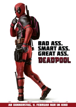 "Das Kino-Plakat von ""Deadpool"" (© 20th Century Fox)"