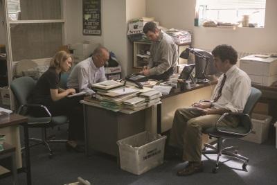 Das Spotlight-Team bei der Arbeit (© Paramount Pictures)