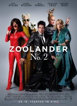 """Das Kino-Plakat von """"Zoolander 2"""" (© Paramount Pictures)"""