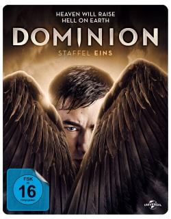 "Das Blu-ray-Cover von ""Dominion Staffel 1"" (© Pandastorm Pictures)"