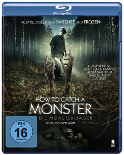 "Das Blu-ray-Cover von ""How to Catch A Monster"" (© Tiberius Film)"