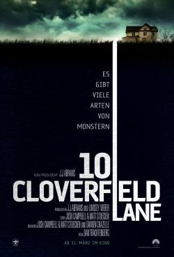 """Das Kino-Plakat von """"10 Cloverfield Lane"""" (© Paramount Pictures)"""