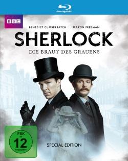"""Das Blu-ray-Cover von """"Sherlock - Die Braut des Schreckens"""" (© Polyband)"""