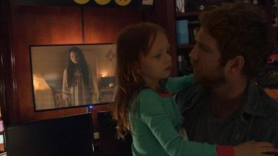 Ryan mit Tochter Leila (© Paramount Pictures)