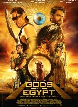 "Das Kino-Plakat von ""Gods od Egypt"" (© Concorde Filmverleih)"