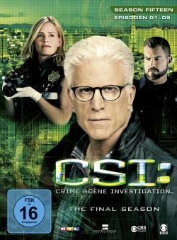 "Das Cover der Staffel 15.1 von ""CSI: Vegas"" (© Universum Film)"