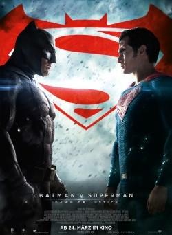 """Das Kino-Plakat von """"Batman v Superman"""" (© Warner Bros Pictures)"""