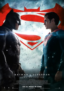 "Das Kino-Plakat von ""Batman v Superman"" (© Warner Bros Pictures)"