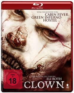 "Das Blu-ray-Cover von ""Clown"" (© Tiberius Film)"