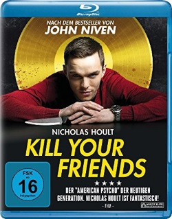 """Das Blu-ray-Cover von """"Kill Your Friends"""" (© Ascot Elite)"""