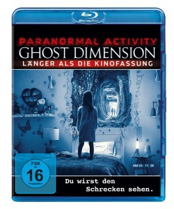 """Das Blu-ray-Cover von """"Paranormal Activity: Ghost Dimension"""" (© Paramount Pictures)"""