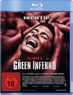 "Das Blu-ray-Cover von ""The Green Inferno"" (© Constantin Film)"
