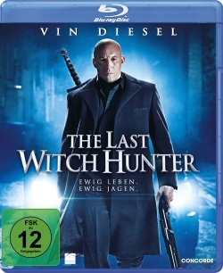 "Das Blu-ray-Cover von ""The Last Witch Hunter"" (© Concorde Filmverleih)"