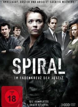 """Das DVD-Cover der ersten Staffel von """"Spiral"""" (© Polyband)"""