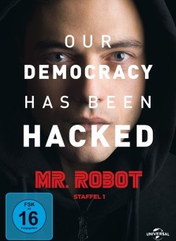 "Das DVD-Cover von ""Mr. Robot - Season 1"" (© Universal Pictures)"