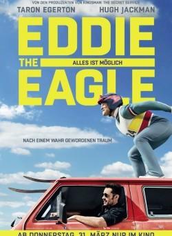 """Das Kino-Plakat von """"Eddie the Eagle"""" (© Fox Deutschland)"""