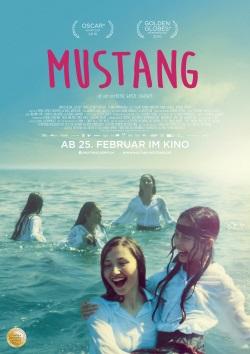 """Das Kino-Plakat von """"Mustang"""" (© Weltkino)"""