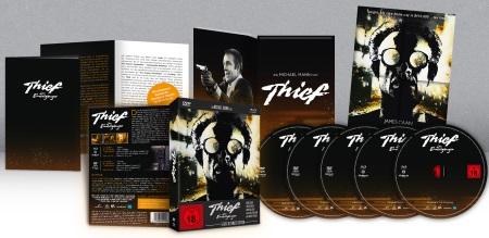 Die Thief-Box in ihren Bestandteilen (© OFDb Filmworks)